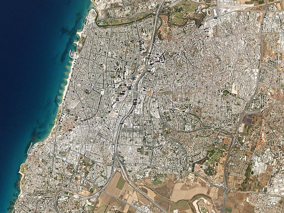 Tel Aviv, Israel by Planet Labs