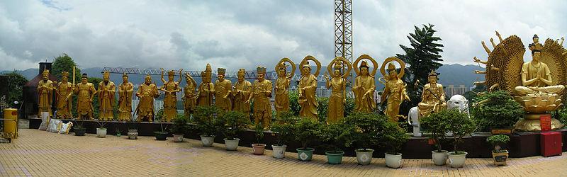 Kết quả hình ảnh cho TEN THOUSAND BUDDHAS MONASTERY
