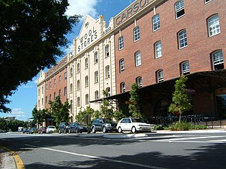 Teneriffe, Queensland - An old wool store converted into residential apartments on Vernon Terrace