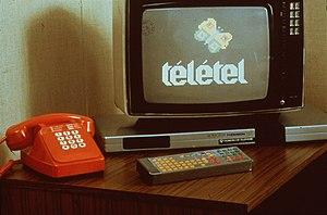 Minitel - Teletel on a Thomson Videotex terminal