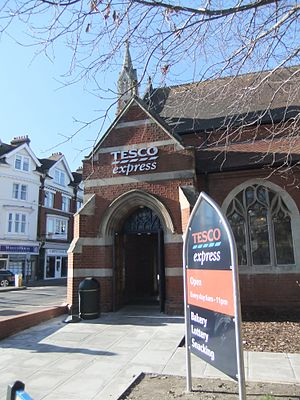Tesco bomb campaign - A Tesco store in Bournemouth