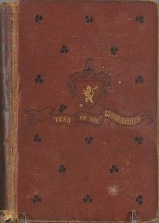 <i>Tess of the dUrbervilles</i> novel by Thomas Hardy
