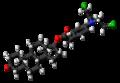 Testifenon molecule ball.png