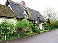 Thatched Cottage in School Lane, Weston Turville - geograph.org.uk - 1258988.jpg