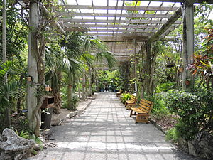 Freeport, Bahamas - Image: The Garden Of The Groves Entrance