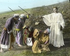 LDS cinema - Still from The Life of Nephi (1915)