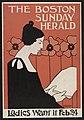 The Boston Sunday Hearld - ladies want it Feb. 24 - Boston Eng. Co. ; E. Reed. LCCN2014645311.jpg