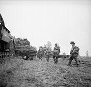 The British Army in North-west Europe 1944-45 BU1231