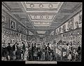 The British Museum; the Zoological Gallery, crowded with hol Wellcome V0013526.jpg