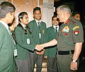 The Chief of Army Staff, General Bipin Rawat interacting with the students of DPS, Raigarh, Chhattisgarh, in New Delhi on July 03, 2018 (1).JPG