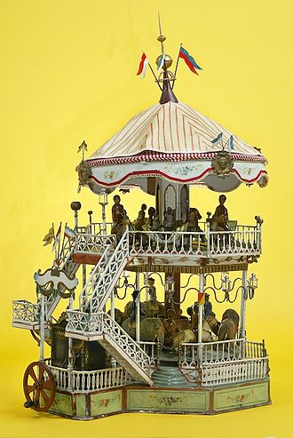Märklin - A carousel made by the company in 1911, from the collection of the Children's Museum of Indianapolis