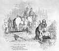 The Cid aiding a leper, 1841, Penny Magazine Wellcome L0000121.jpg