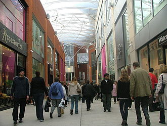 Eden, High Wycombe - Eden Centre on the first Saturday after opening