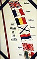 The Flags of the Allies, postcard, WWI (28476164245).jpg