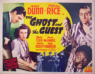 The Ghost and the Guest - Lobby card