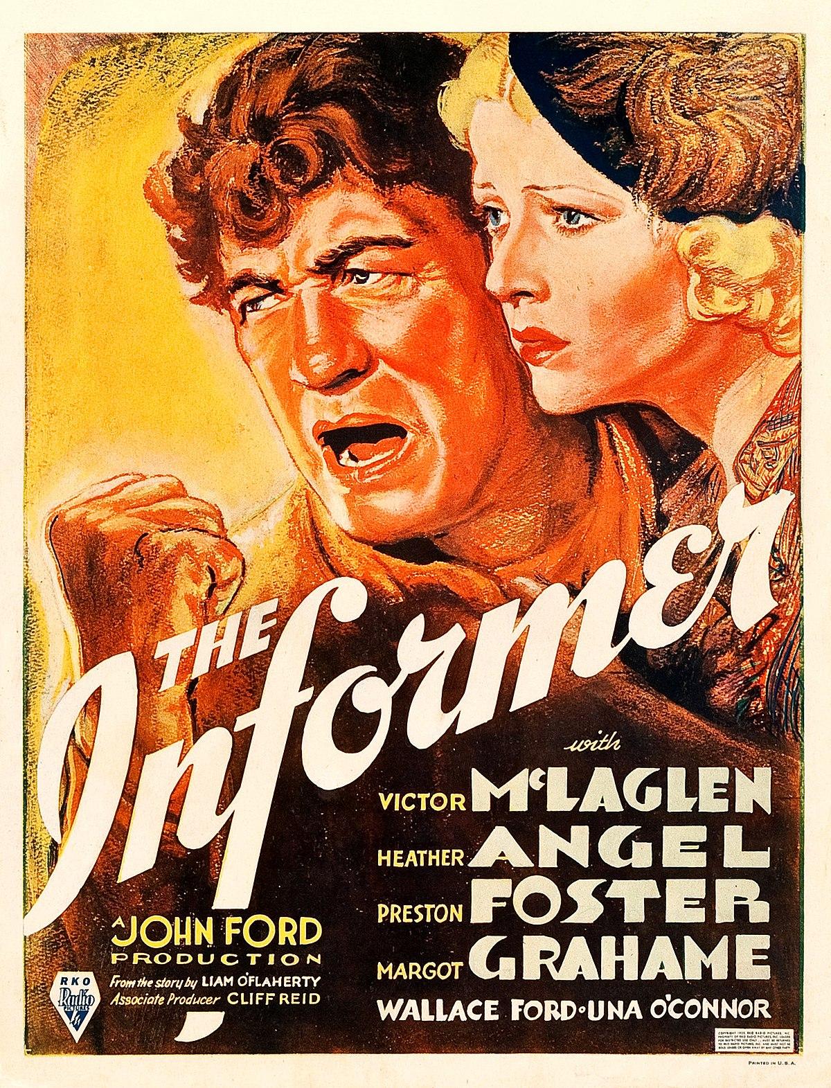 The Informer 1935 Film Wikipedia