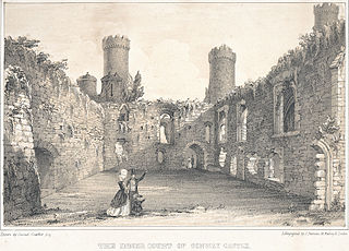 The Inner Court Of Conway Castle: Size 60 Feet By 48 Feet