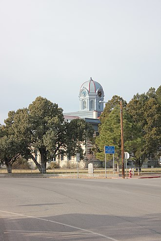 Fort Davis, Texas - Jeff Davis County Courthouse, located in Fort Davis