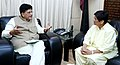 The Lt. Governor of Puducherry, Ms. Kiran Bedi meeting the Minister of State for Power, Coal, New and Renewable Energy and Mines (Independent Charge), Shri Piyush Goyal, in New Delhi on July 28, 2016 (1).jpg