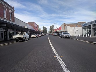 Ulverstone, Tasmania - A view of the main street of Ulverstone, Tasmania (December 2018)