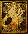 The Mermaid by Robert Anning Bell, London, c. 1904-1907 (first version 1899), polychromed plaster - Montreal Museum of Fine Arts - Montreal, Canada - DSC09096.jpg