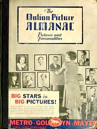 International Television & Video Almanac - Image: The Motion Picture Almanac 1929