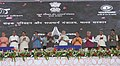 The Prime Minister, Shri Narendra Modi at the event marking the dedication of Eastern Peripheral Expressway to the Nation, at Baghpat, in Uttar Pradesh.JPG