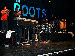 The Roots American hip hop band