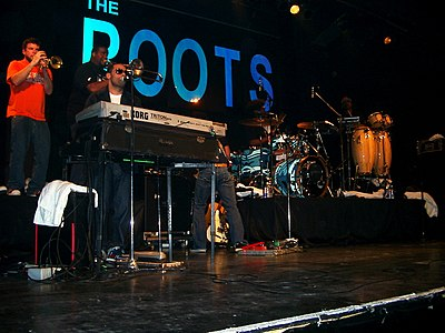 Picture of a band or musician: The Roots