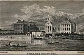 The Royal Hospital, Chelsea; viewed from the Surrey bank wit Wellcome V0012913.jpg