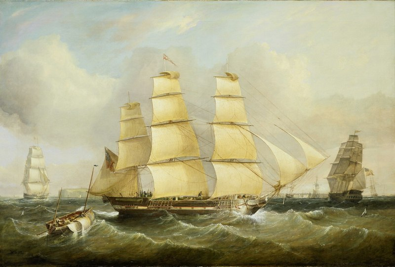 The Ship Morley and Other Vessels RMG BHC3502.tiff