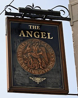 The Sign of The Angel - geograph.org.uk - 793414