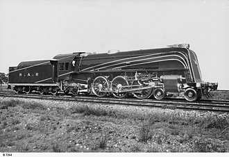 Islington Railway Workshops - A 620 class locomotive, which went into service in 1936, was a light passenger locomotive. It was one of several classes of steam engines designed and built at Islington Workshops.