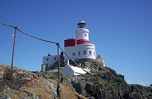 The Skerries Lighthouse (Ynys Y Moelrhoniaid) off NW Anglesey. - geograph.org.uk - 96494.jpg