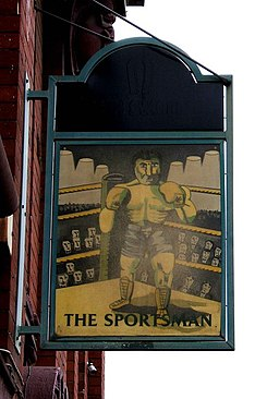 The Sportsman pub sign, 156 Darnall Road, Darnall - geograph.org.uk - 1249227