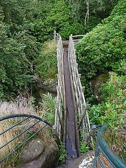 The Swiss Bridge, Hawkstone Park - geograph.org.uk - 1501575