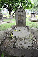 The Tomb of David Richardson,Dutch Cemetery in Chinsurah.jpg
