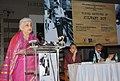 The Union Minister for Culture, Smt. Chandresh Kumari Katoch addressing at the inauguration of an exhibition 'Visual Archives of Kulwant Roy, in New Delhi on November 14, 2012.jpg