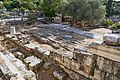The backside of the remains of the Southeast stoa in the Ancient Agora on September 27, 2020.jpg