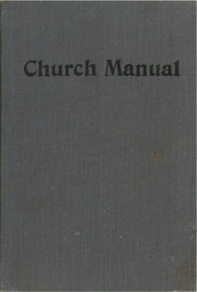 File:The church manual (Church of the Brethren 1916).djvu
