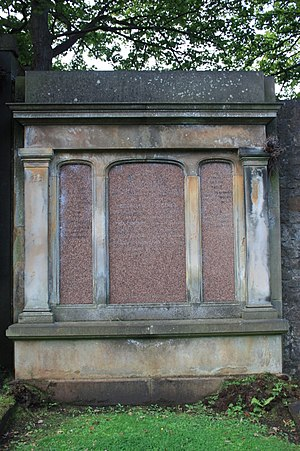 John Cowan, Lord Cowan - The grave of John Cowan, Lord Cowan, Dean Cemetery, Edinburgh