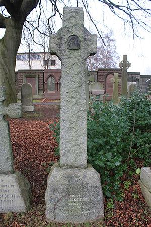Montagu Cotterill - Image: The grave of Joseph Cotterill, Dean Cemetery, Edinburgh
