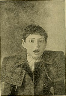 1911 photograph of mouth breathing child