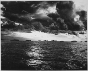 The liberators move against the Philippines. An armada of American power steams in impressive array along the coast... - NARA - 513206.tif