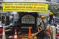 The memorial of the Sikh Guru Teg Bahadur opposite to Gurudwara Sis Ganj Sahib, Chandni Chowk, Delhi.JPG