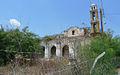 The remains of the Church of Profitis Ilias in Marathovounos, Cyprus, 2012..jpg