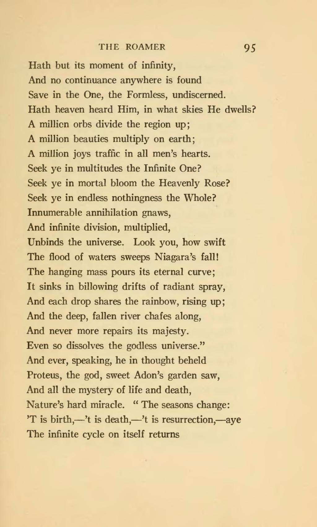 Its Not Personal >> Page:The roamer and other poems (1920).djvu/105 - Wikisource, the free online library