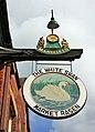 The sign of the White Swan, Market Rasen - geograph.org.uk - 1322476.jpg