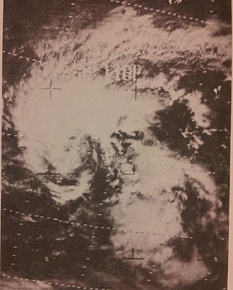 1967 Pacific typhoon season - Image: Therese March 171967