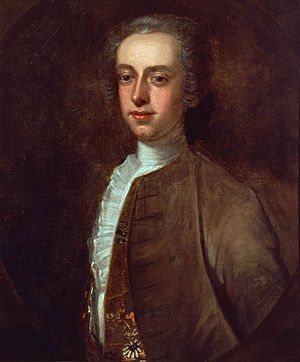 Thomas Hutchinson (governor) - Portrait by Edward Truman, 1741